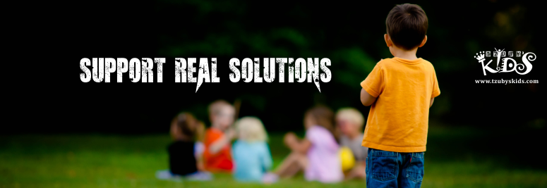 banner tzuby s kids - support real solutions - linkedin